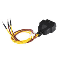 OBD2 16 Pin Female Extension Connector To Open Plug Wire Diagnostic Cable 30cm