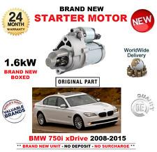 PARA BMW 750 i xdDrive MOTOR DE ARRANQUE 2008 2015 1.6kW F01 F02 F03 F04 SALOON