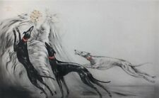 "Louis Icart       ""Coursing II""      MAKE  OFFER       #DDSBA"