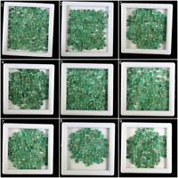 Natural Zambian Emerald Loose Gemstones Wholesale Lots Beautiful Green Gems