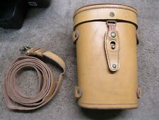 Original French Sniper Leather Apx L806 Scope Case & Strap Mas 49 Missing Snap