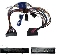 AUDI A4,A5 PARROT BLUETOOTH ISO LEAD THARNESS WIRING MUTE LEAD PLUG LOOM SOT-925