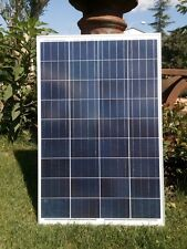 200W 2x Pannello Solare Fotovoltaico 100 W  Camper Baita Casa 12V 2x 100W = 200W