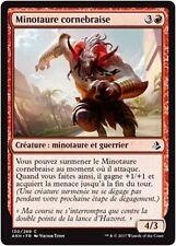 MTG Magic AKH - (x4) Emberhorn Minotaur/Minotaure cornebraise, French/VF