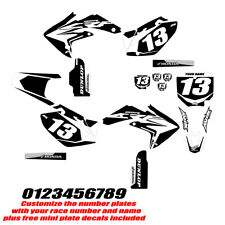 Honda CRF150R 2007-2017 Semi Custom Graphics Black Highlight FREE SHIPPING!!!