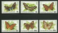Album Treasures Cayman Islands Scott # 386-391 Butterflies Mint NH