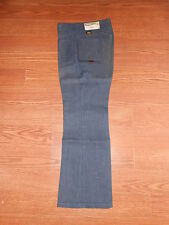 Kids 70's Vintage MANN Pants Boy/Girl 11 Regular Unisex Flare Hippie Blue Jeans!