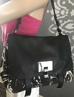 NWOT PROENZA SCHOULER Large COURIER LEATHER Shoulder Bag TOTE Convertible