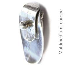 Art Deco Designer Clip Silber signiert HB silver clip