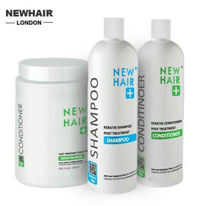 Brazilian Keratin Shampoo OR Conditioner  |  Sulphate Free After Care by NEWHAIR