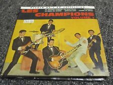 """RARE! CD DIGIPACK """"FRENCH 60'S EP COLLECTION : LES CHAMPIONS, VOLUME 1"""""""