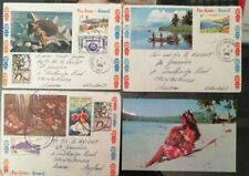 French Polynesia Stamps FDC