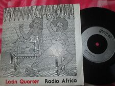 Latin Quarter – Radio Africa  Ignition  PUMA 8481 UK 7inch Vinyl 45 Single