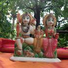Shiva Parvati Ganesha Family Statue Marble Sculpture Hindu Temple India 3.3 lb L