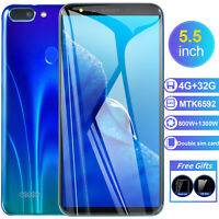 "5.5"" R15 Plus SmartPhone 4+32GB Android Unlocked Cheap Mobile Octa Core Dual SIM"