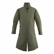 New Brand Medieval Thick Padded White Gambeson Custome Sca