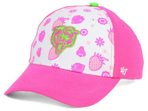 Chicago Bears NFL Strawberry Smoothie Kid's Youth Adjustable Girls Bear Hat Cap