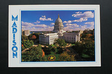Carte postale MADISON (USA) The Wisconsin State Capitol