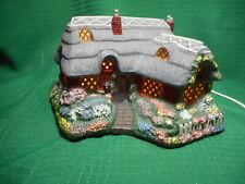 Thomas Kinkade Candlelight Cottages Olde Porterfield Tea Room