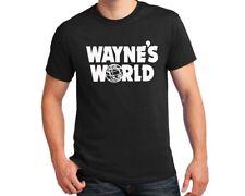 Wayne's World T-shirt Wayne Campbell Algar Halloween Costume party cosplay