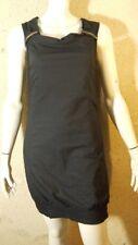 BONOBO JEANS Taille M - 38 Superbe robe doublée noire en coton mélangé dress
