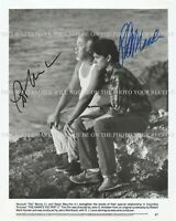 PAT MORITA AND RALPH MACCHIO HAND SIGNED 8x10 PHOTO THE KARATE KID II COBRA KAI