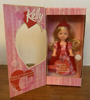 2004 Barbie Kelly Hearts & Kisses Princesa de Corazones ~ Valentine's Day ~ New