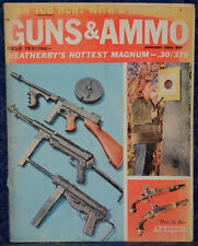 Magazine GUNS & AMMO January 1961 NEWTON First Model RIFLE, SCHMEISSER MP 38, 40