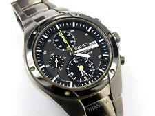 Seiko Sportura Titanium Men's 7T62-0A60 Alarm Chrono Watch - 100m