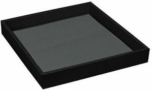 Faux leather Jewelry Tray Countertop Showcase Display 8 x 7 x 1 inch