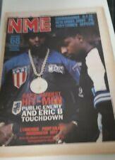NME 10 OCT 1987  - RAP'S HARDEST HIT MEN - PUBLIC ENEMY AND ERIC B TOUCHDOWN