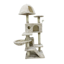 51'' Cat Tree Tower Scratching Condo Furniture Scratch Post Pet House for Cats