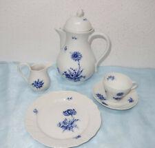 Hutschenreuther Dresden blaue Blume, Flockenblume, Kaffeeservice - Teile Auswahl