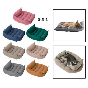 Foldable Dog Bed Pet Sofa Bed Four Seasons Autumn Winter Warm Comfortable Bed