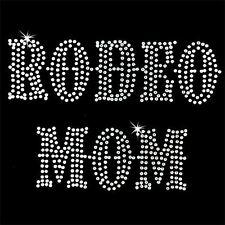 Rhinestone Transfer - Hot Fix Motif - Rodeo Mom 2