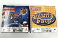 Family Feud & Disney Family Feud Edition By Cardinal Family Box Card Games Lot 2
