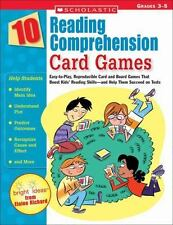 10 Reading Comprehension Card Games: Easy-to-Play, Reproducible Card and Boar...