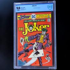 THE JOKER #5 💥 9.8 WP CBCS RARE 💥 Two-Face! Riddler! Batman! DC 1976