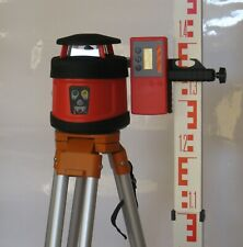 FRE205 Automatic Rotary Laser Level with Tripod and Staff
