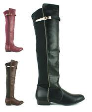 Calzado de mujer sin marca color principal negro sintético