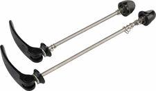 Tangente - Zipp Tangente Quick Release Skewer Set: 100mm/130mm, Titanium, Black