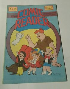 St The comic reader # 185,1980 harvey characters cover