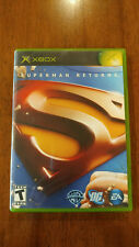 Superman Returns: The Video Game (Xbox, 2006) MINT COMPLETE! MAIL TOMORROW!