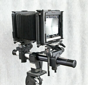 Sinar F2 Monorail 4x5 Camera, extra rail, excel condition