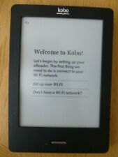 KOBO Touch N905B 2GB 6 Inch ereader with original box, new case & charger bundle