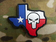 SEAL TEAM 3 TEXAS PUNISHER skull VELCR0 pvc map PATCH BADGE devgru lone survivor