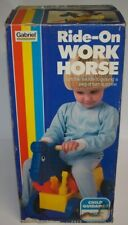 Childs Ride-On Horse w/Tools Kids Ages 1-3 Gabriel