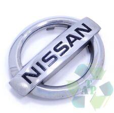 04-12 Nissan Sentra CHROME Front Radiator Grille Logo Emblem Decal OEM 06 07 08