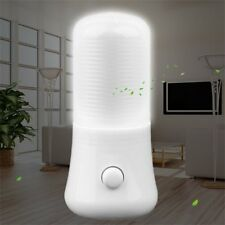 LED Night Light Wall Plug-in Bright Clear Light White Saving Energy AC Powered