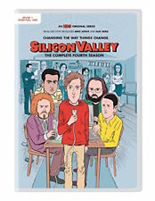 SILICON VALLEY: SEASON 4 DVD - THE COMPLETE FOURTH SEASON - NEW UNOPENED - HBO